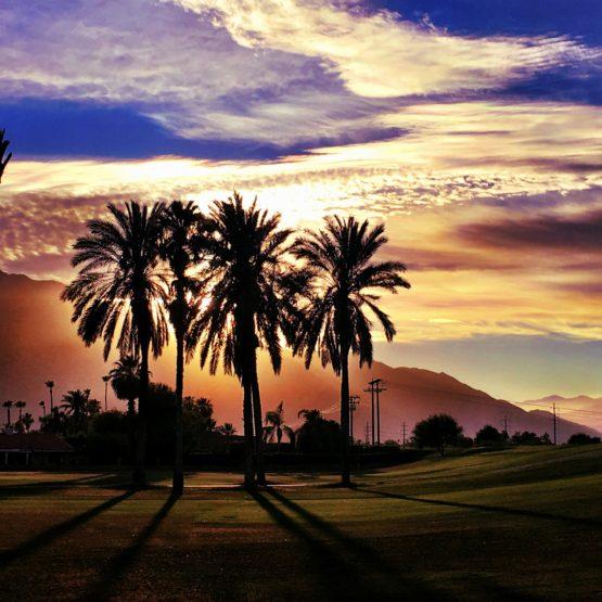 Palm Springs Sonnenuntergang #3